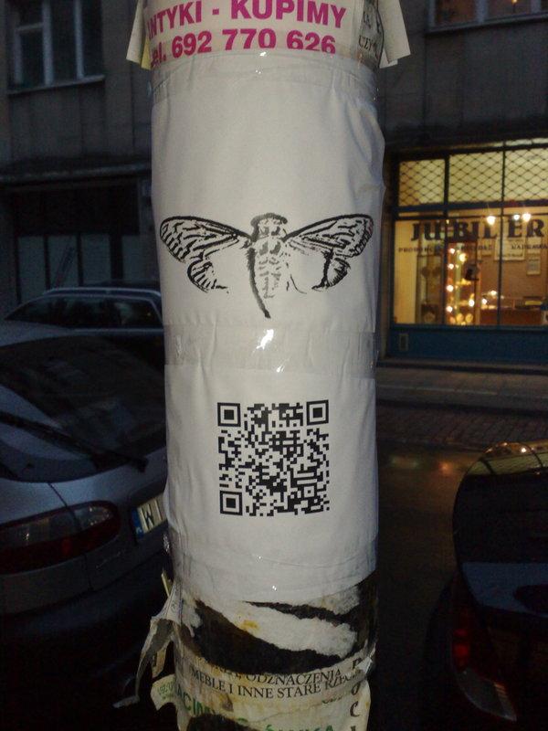 Pôster encontrado em Varsóvia, Polônia