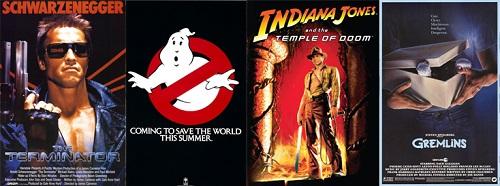 1984-Terminator-Ghostbusters-Indiana-Jones-Temple-of-Doom-Gremlins