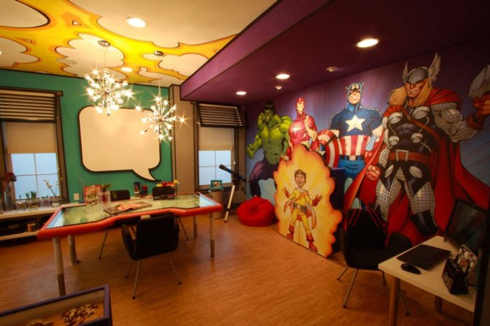 Marvel room